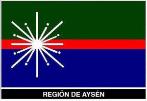bandera de Aysen